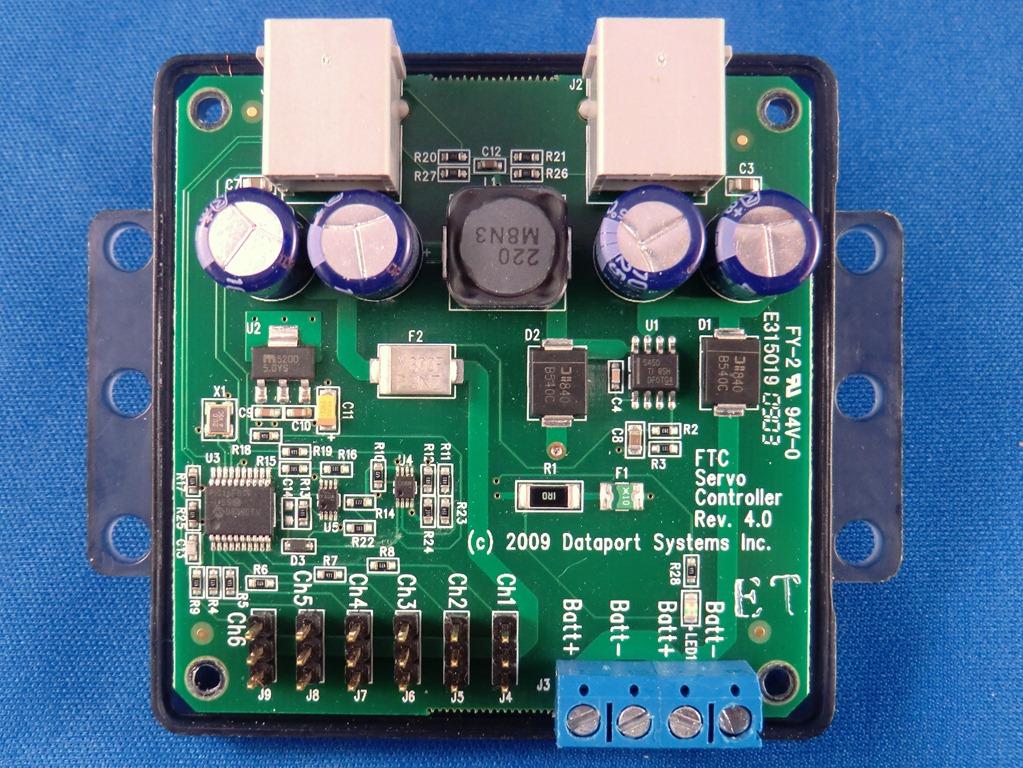 Hitechnic dc motor controller for tetrix for Dc motor servo controller