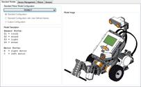 Sensor and Motor Configuration Dialog