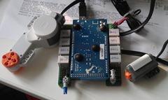 ArduinoMega + NXShield-M setup
