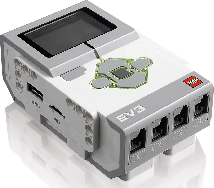 Comparing the NXT and EV3 bricks