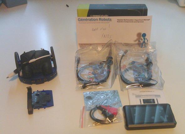 New toys - Seeedstudio DSO Quad and Wheelphone