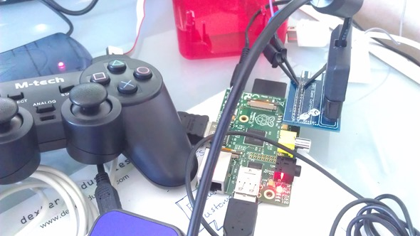 Raspberry Pi Playstation DualShock Shield?