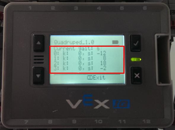 VEX IQ Screen