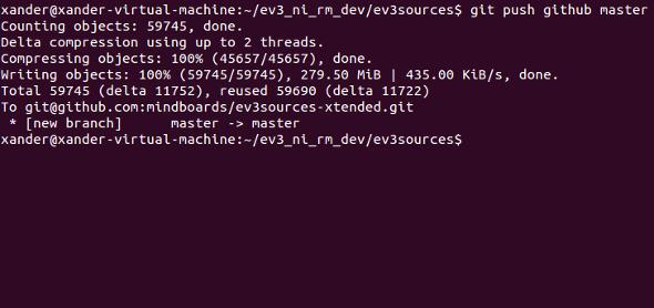 EV3 Extended Firmware + VM now on Github | Bot Bench