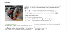My Omniwheel Article in D&T Practice