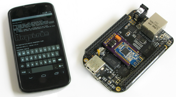 BBConsole Wireless Console for BeagleBone