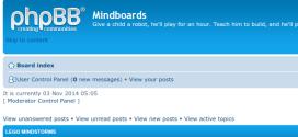 Mindboards forums are back!