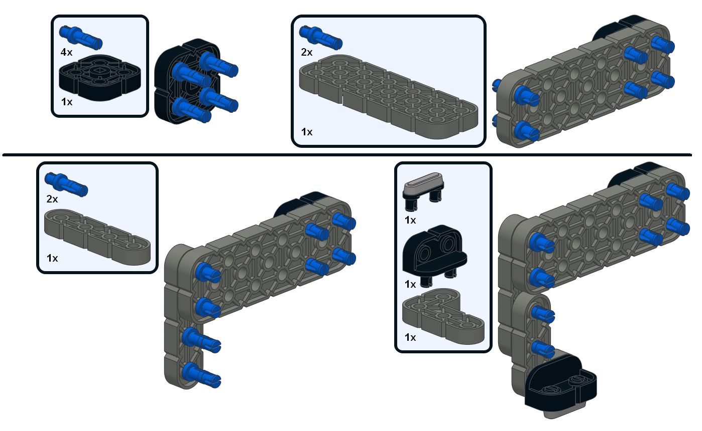 VEX IQ Quadruped: Building Instructions! | Bot Bench