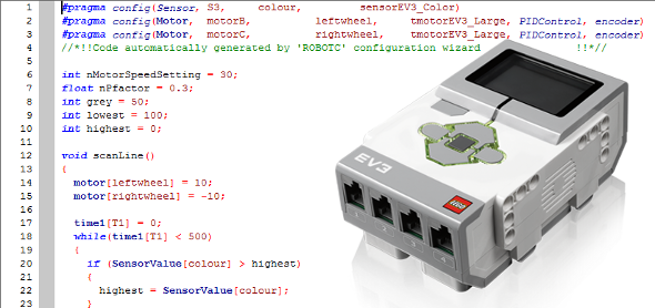 EOPD free tutorial RobotC and NXT-G HiTechnic DrGraeme